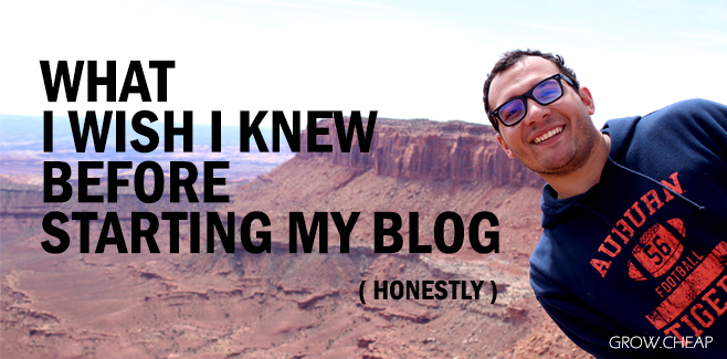 What I Wish I Knew Before Starting My Blog? #Blogging #Content