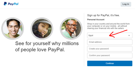 paypal-egypt-paypal in egypt