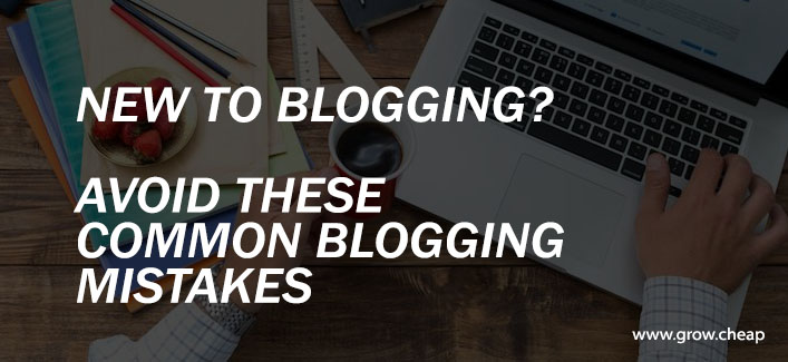 6 Common Amateur Bloggers Mistakes To Avoid #Blogging #Mistakes
