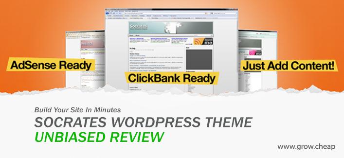 Socrates WordPress Theme: Unbiased Review #WordPress #Socrates #Theme