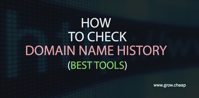 How To Check Domain Name History? (Best Tools) #Hosting #Domain