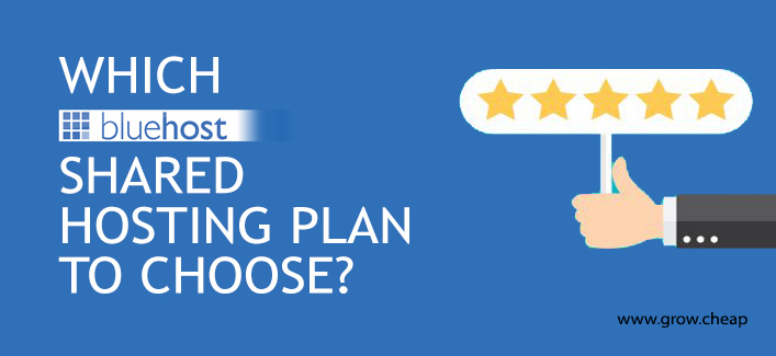 Which BlueHost Shared Hosting Plan To Choose? #BlueHost #Review #WebHosting
