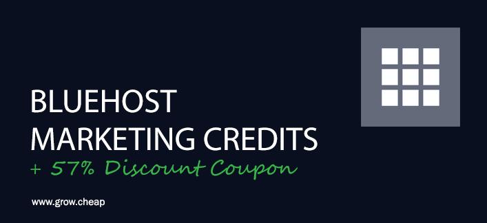 bluehost-marketing-credits