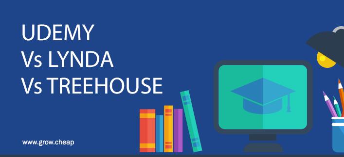 Udemy Vs Lynda Vs TreeHouse (Best Online Learning Site) #Udemy #Lynda #TreeHouse