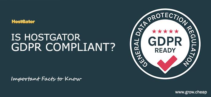 Is HostGator GDPR Compliant? (A Must Read) #HostGator #GDPR #WordPress