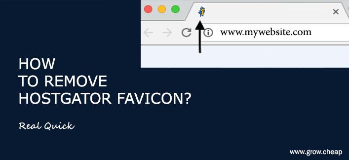 How To Remove HostGator Favicon? (Quick) #HostGator #Favicon