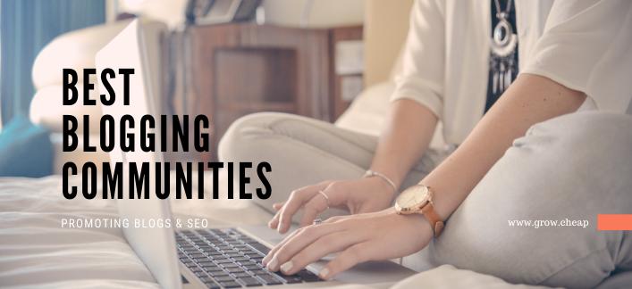 Best Free Blogging Communities For Online Bloggers
