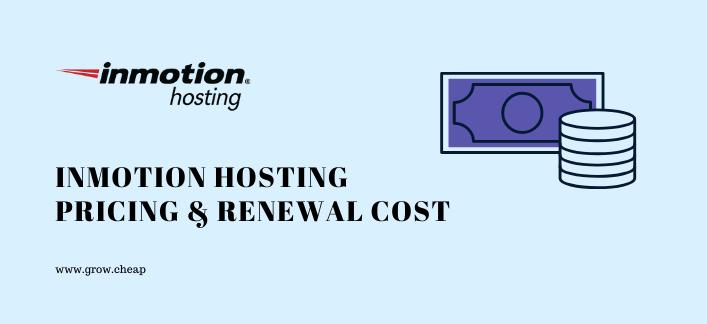 InMotion Hosting Pricing: What Are Renewal Prices? #Hosting #WordPress #Renewal