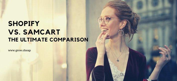 Shopify Vs SamCart: Best eCommerce Solutions #Shopify #SamCart #eCommerce