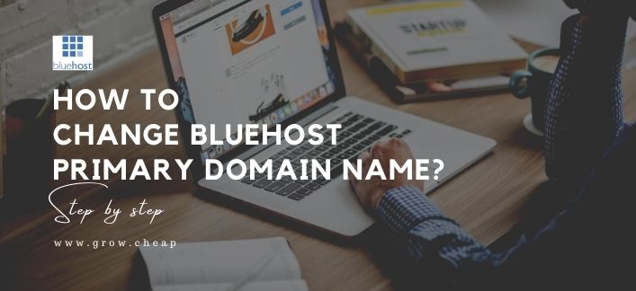 How To Change BlueHost Primary Domain Name?